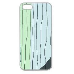 Decorative lines Apple Seamless iPhone 5 Case (Clear)