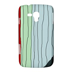 Decorative lines Samsung Galaxy Duos I8262 Hardshell Case