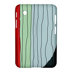 Decorative lines Samsung Galaxy Tab 2 (7 ) P3100 Hardshell Case