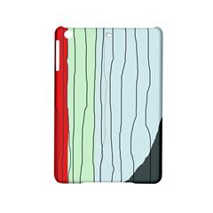 Decorative lines iPad Mini 2 Hardshell Cases