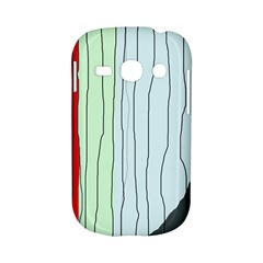 Decorative lines Samsung Galaxy S6810 Hardshell Case
