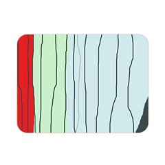 Decorative lines Double Sided Flano Blanket (Mini)