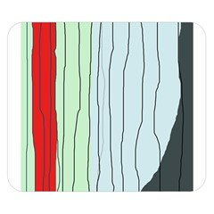 Decorative lines Double Sided Flano Blanket (Small)