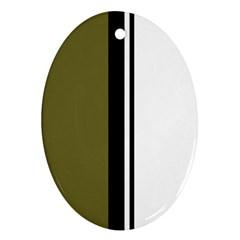 Elegant lines Ornament (Oval)
