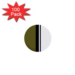 Elegant lines 1  Mini Buttons (100 pack)