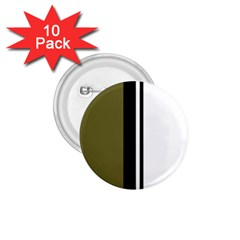 Elegant lines 1.75  Buttons (10 pack)