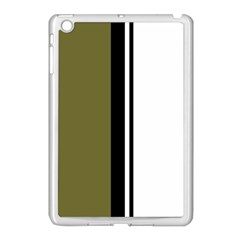 Elegant lines Apple iPad Mini Case (White)