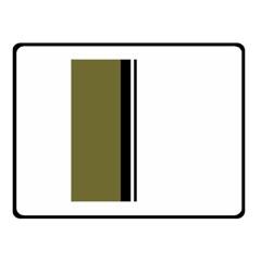 Elegant lines Double Sided Fleece Blanket (Small)