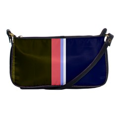 Decorative lines Shoulder Clutch Bags