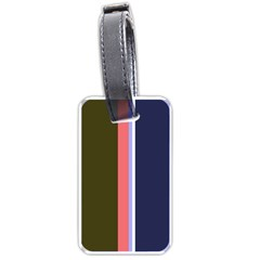 Decorative lines Luggage Tags (Two Sides)