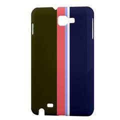 Decorative lines Samsung Galaxy Note 1 Hardshell Case
