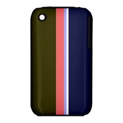Decorative lines Apple iPhone 3G/3GS Hardshell Case (PC+Silicone)
