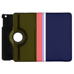 Decorative lines Apple iPad Mini Flip 360 Case