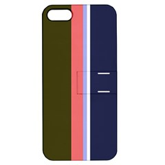 Decorative lines Apple iPhone 5 Hardshell Case with Stand