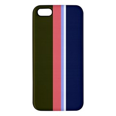 Decorative lines iPhone 5S/ SE Premium Hardshell Case