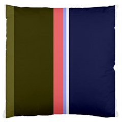 Decorative lines Large Flano Cushion Case (Two Sides)