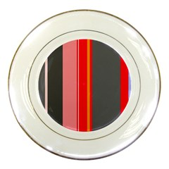 Optimistic lines Porcelain Plates