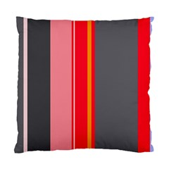 Optimistic lines Standard Cushion Case (Two Sides)