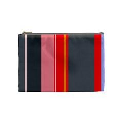 Optimistic lines Cosmetic Bag (Medium)