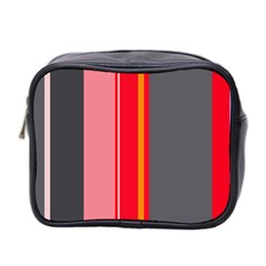 Optimistic lines Mini Toiletries Bag 2-Side
