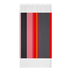 Optimistic lines Shower Curtain 36  x 72  (Stall)