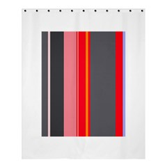 Optimistic lines Shower Curtain 60  x 72  (Medium)