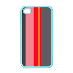 Optimistic lines Apple iPhone 4 Case (Color)