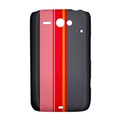 Optimistic lines HTC ChaCha / HTC Status Hardshell Case