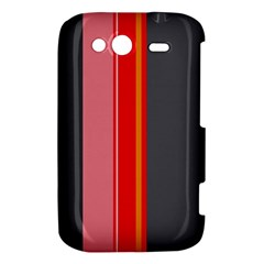 Optimistic lines HTC Wildfire S A510e Hardshell Case