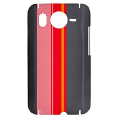 Optimistic lines HTC Desire HD Hardshell Case