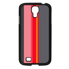 Optimistic lines Samsung Galaxy S4 I9500/ I9505 Case (Black)