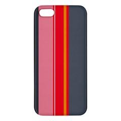 Optimistic lines iPhone 5S/ SE Premium Hardshell Case