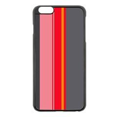 Optimistic lines Apple iPhone 6 Plus/6S Plus Black Enamel Case