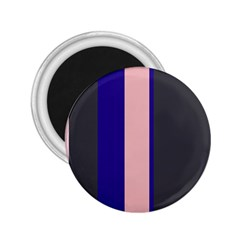 Purple, pink and gray lines 2.25  Magnets