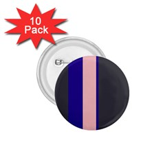 Purple, pink and gray lines 1.75  Buttons (10 pack)