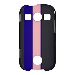 Purple, pink and gray lines Samsung Galaxy S7710 Xcover 2 Hardshell Case