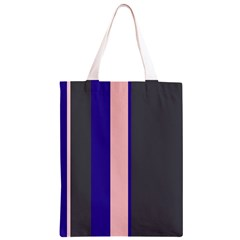 Purple, pink and gray lines Classic Light Tote Bag