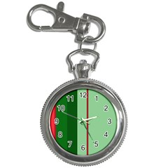Green and red design Key Chain Watches