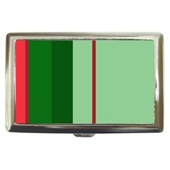 Green and red design Cigarette Money Cases