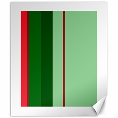 Green and red design Canvas 20  x 24