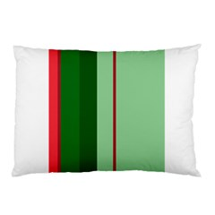 Green and red design Pillow Case