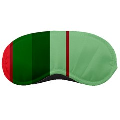Green and red design Sleeping Masks