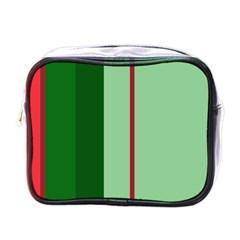 Green and red design Mini Toiletries Bags