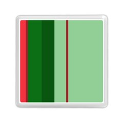 Green and red design Memory Card Reader (Square)