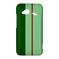Green and red design HTC Droid Incredible 4G LTE Hardshell Case
