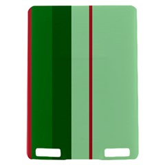 Green and red design Kindle Touch 3G