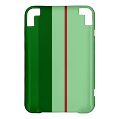 Green and red design Kindle 3 Keyboard 3G