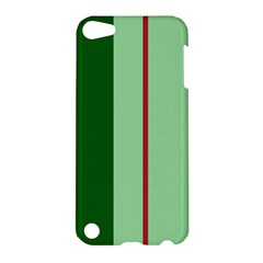 Green and red design Apple iPod Touch 5 Hardshell Case