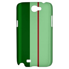 Green and red design Samsung Galaxy Note 2 Hardshell Case