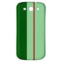 Green and red design Samsung Galaxy S3 S III Classic Hardshell Back Case